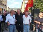 Manifestazione Fiom per la Fiat di Cassino