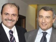 L'Assessore De Angelis e il Presidente Marrazzo