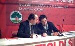 Mauro e Buschini e Francesco De Angelis al IV Congresso Provinciale dei Democratici di Sinistra