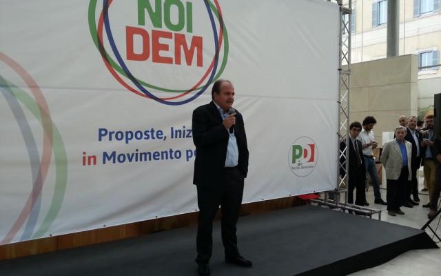 """Presentato a Roma il laboratorio politico """"Noi Dem"""": Tra i promotori dell'iniziativa Francesco De Angelis"""