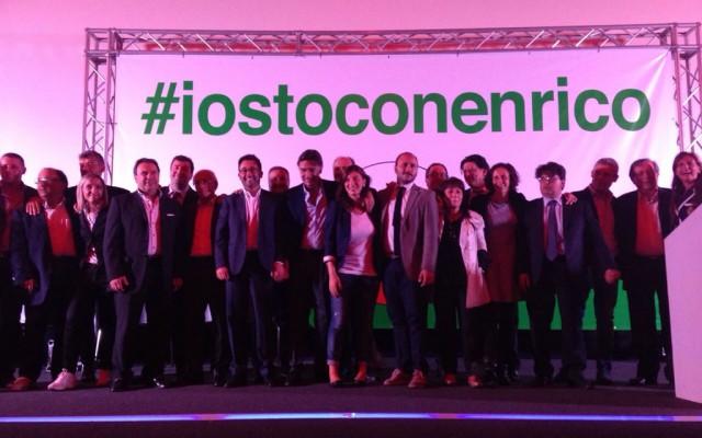 Elezioni provinciali, successo per l'iniziativa #IOSTOCONENRICO