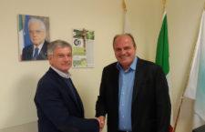 Il Presidente del Cosilam Pietro Zola incontra il Presidente del Consorzio Asi di Frosinone Francesco De Angelis