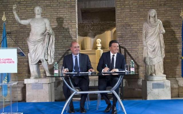 Un miliardo e 407 milioni per realizzare opere strategiche nel Lazio. De Angelis: Zingaretti e Renzi uniti per lo sviluppo e la coesione sociale
