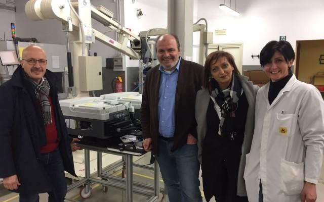 """Isola del Liri, il presidente dell'Asi in visita alla """"Seneca Air"""": un'azienda innovativa e altamente tecnologica al servizio dell'ambiente"""